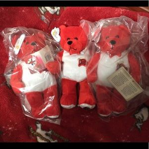 "NWT Three 👨🚒👨🚒👨🚒 ""Firefighter Bears"""
